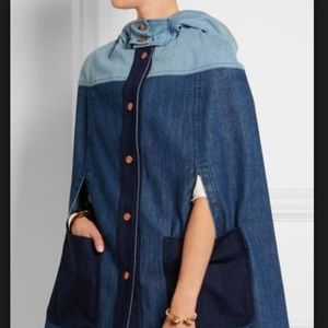 See by Chloe Denim Cape Size 0 (French 34)